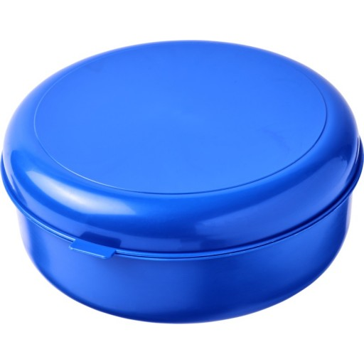 Miku runde Pastabox aus Kunststoff | Blau