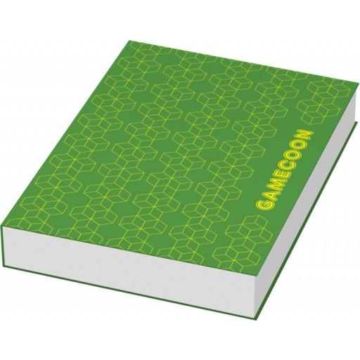 Combi Notiz- und Markierungs-Set mit Softcover | Weiss