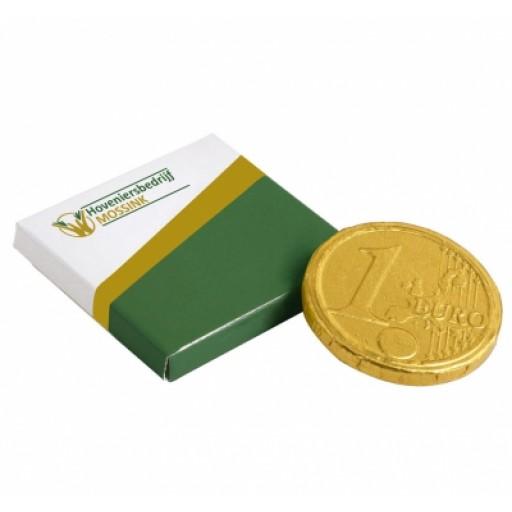 Kleine Box Schokoladen-Münze | Digitaldruck