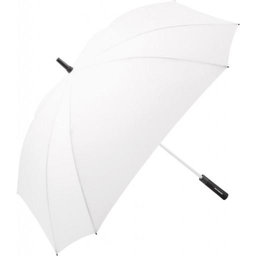 Jumbo® XL Square Color Automatik-Gästeschirm | Weiß | hochwertige Markenschirme von Fare