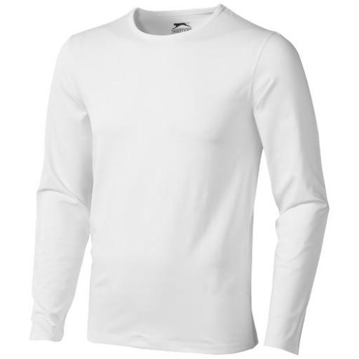 Curve Langarm Shirt | Weiß | S