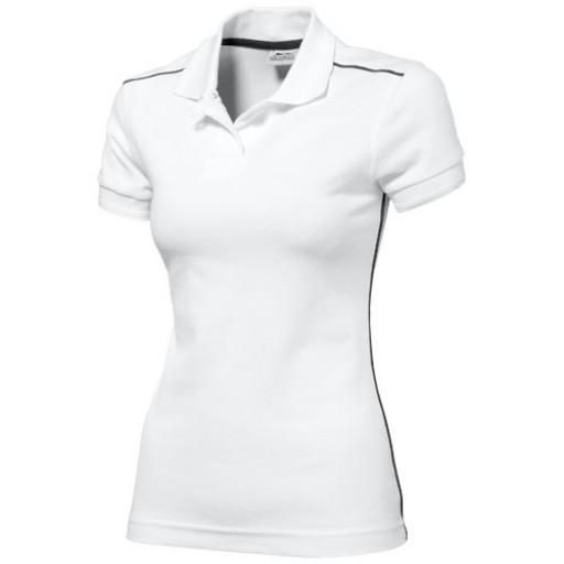 Backhand Damen Poloshirt | Weiß | S