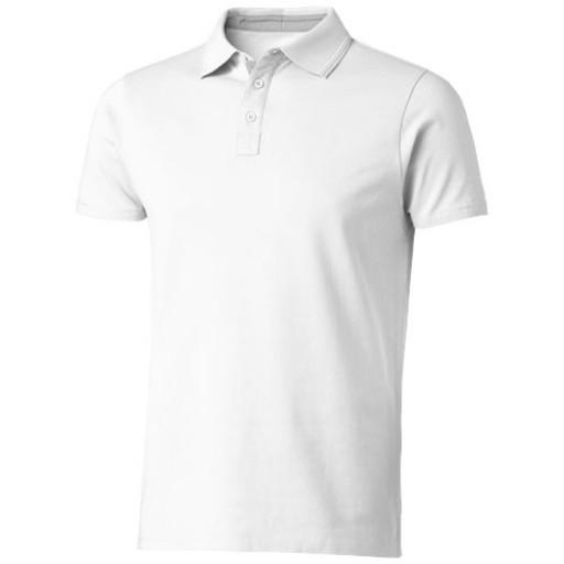 Hacker Poloshirt | Weiß | S