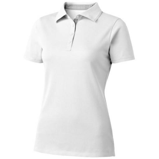 Hacker Damen Poloshirt | Weiß | S
