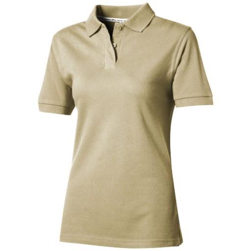 Forehand Damen Poloshirt | Beige | S