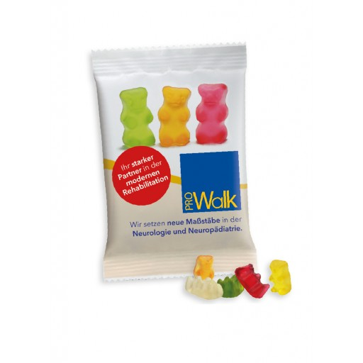 HARIBO Mini Goldbären 10 Gramm  | Transparente Folie | 1-farbig