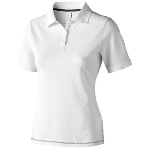 Calgary Damen Poloshirt   Weiß   XS