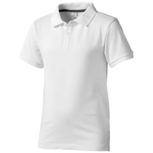 Calgary Kinder Poloshirt | Weiß | 104