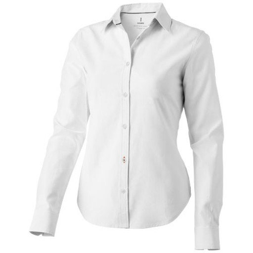 Vaillant Damen Langarm Bluse | Weiß | XS
