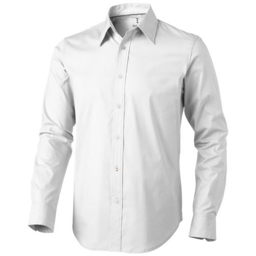 Hamilton Langarm Hemd | Weiß | XS
