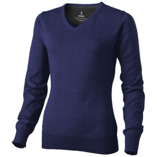 Spruce Damen Pullover mit V Ausschnitt   Blau   XS