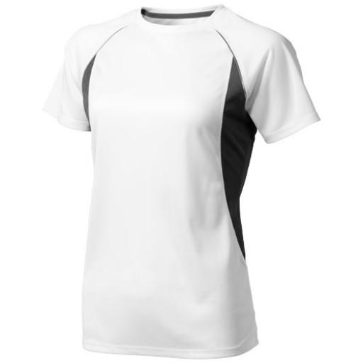 Quebec Damen T Shirt   Weiß   XS