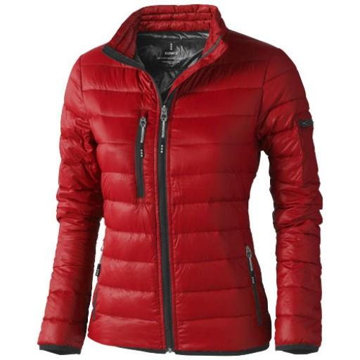 Scotia Damen leichte Daunenjacke | Rot | XS