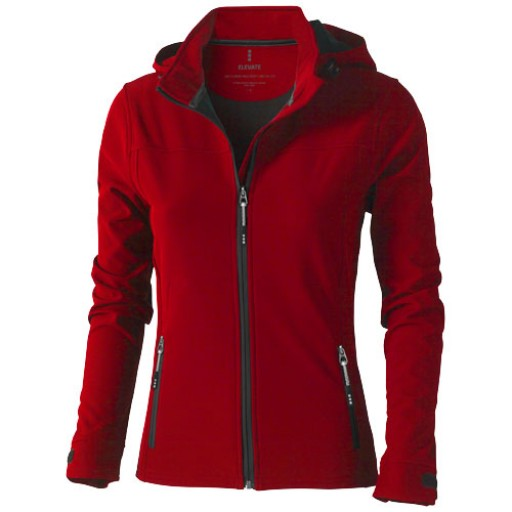 Langley Damen Softshell Jacke | Rot | XS