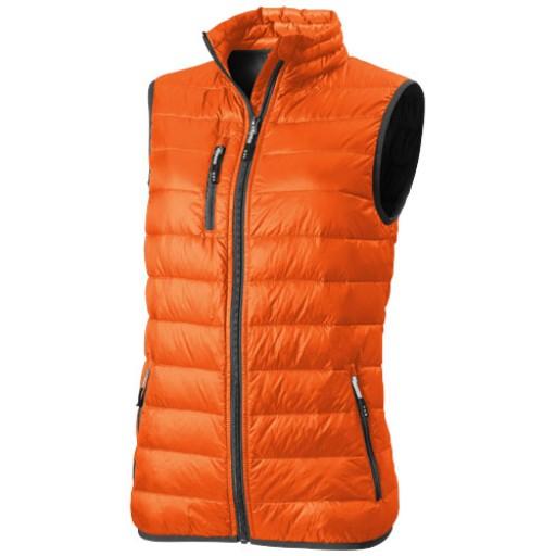 Fairview Damen leichter Daunen Bodywarmer | Orange | XS