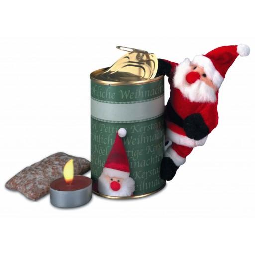 Magnetischer Weihnachtmann in Dose