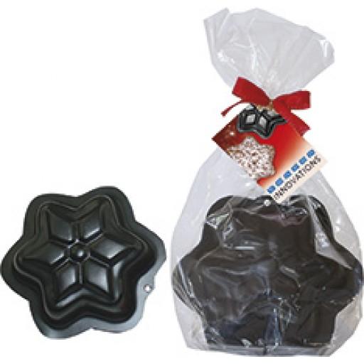 Stern-Backform im Geschenktütchen