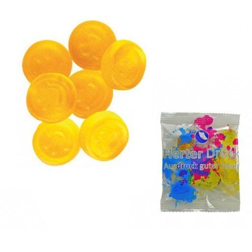 HARIBO Mini-Smileys 6,5 Gramm | Transparente Folie | 1-farbig