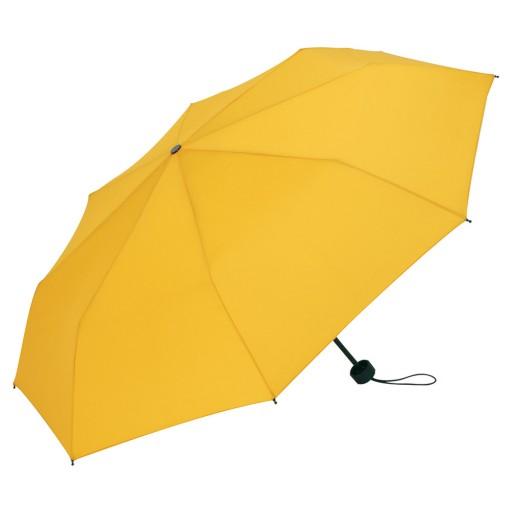 Mini-Topless-Taschenschirm | Gelb | hochwertige Markenschirme von Fare