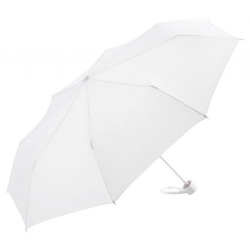 Alu-Mini-Taschenschirm | Weiß | hochwertige Markenschirme von Fare