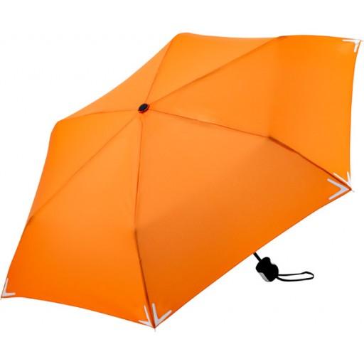 Safebrella® Mini-Taschenschirm | Orange | hochwertige Markenschirme von Fare