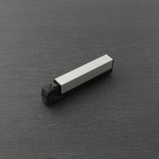 USB-Stick LKW mit Alu-Auflieger