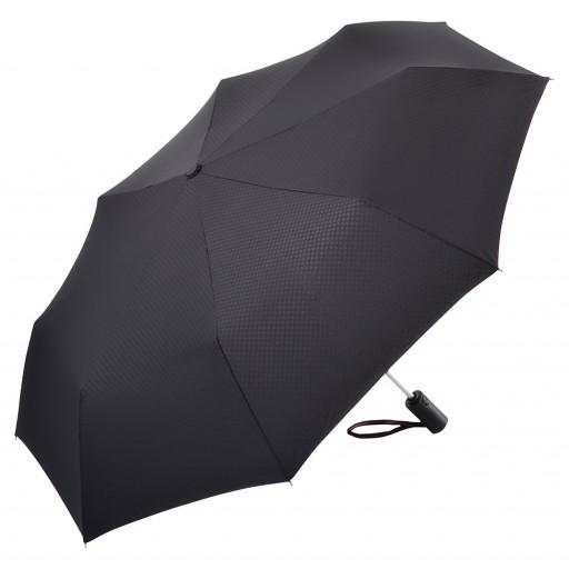 Trimagic® Safety Redline Mini-Taschenschirm   Schwarz   hochwertige Markenschirme von Fare