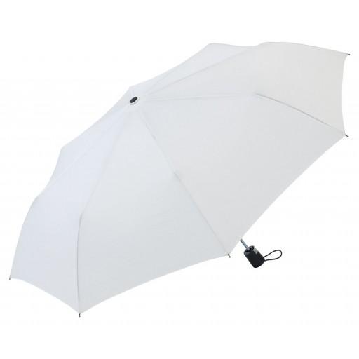 FARE®-Automatik Mini-Taschenschirm | Weiß | hochwertige Markenschirme von Fare