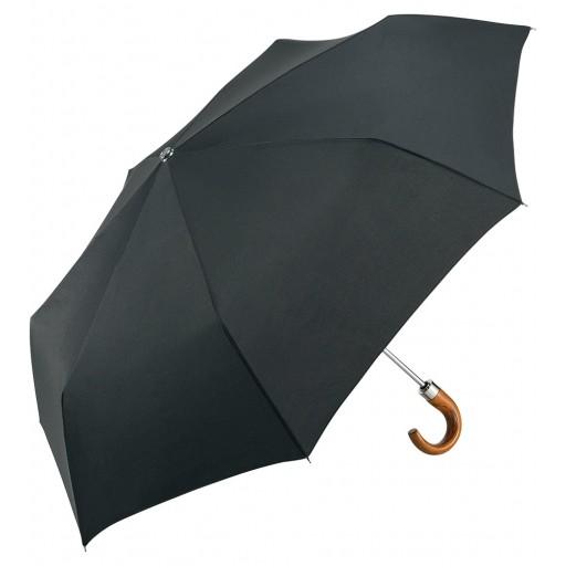 RainLite® AOC Classic Midsize-Taschenschirm | Schwarz | hochwertige Markenschirme von Fare