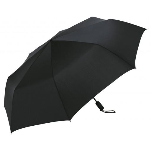 Magic Windfighter® Oversize-Flat-Black-Taschenschirm | Schwarz | hochwertige Markenschirme von Fare