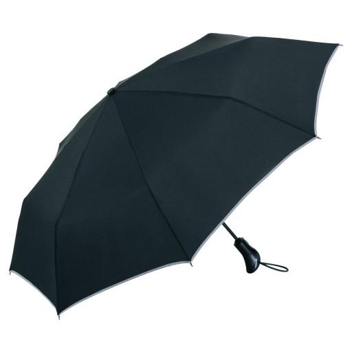 Magic Windfighter® Carbon Oversize-Taschenschirm | Schwarz | hochwertige Markenschirme von Fare
