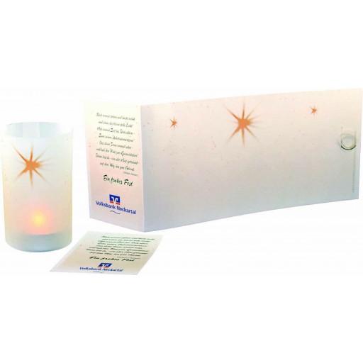 Lichtrolle Stern (ohne Teelicht)