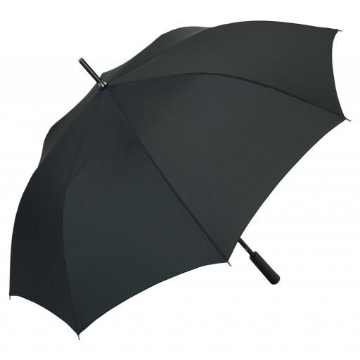 Rainmatic® XL Black Automatik-Alu-Gästeschirm | Schwarz | hochwertige Markenschirme von Fare