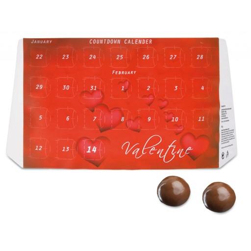 Countdown Kalender,  alsWerbegeschenk