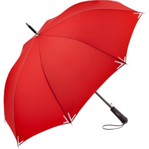 Safebrella® LED Automatik-Stockschirm | Rot | hochwertige Markenschirme von Fare