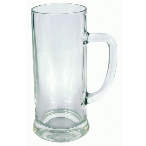 Glaskrug Weltenburg als Werbemittel