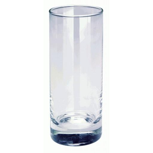 Longdrinkglas, klar als Werbemittel