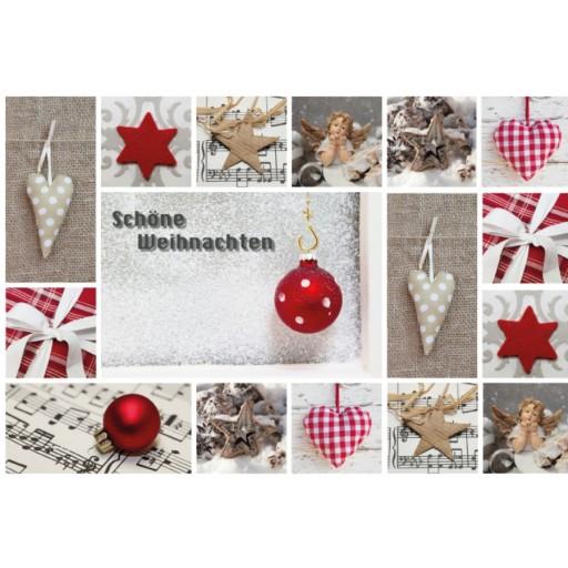Standard-Tisch-Adventskalender   Schöne Weihnachten   T-1