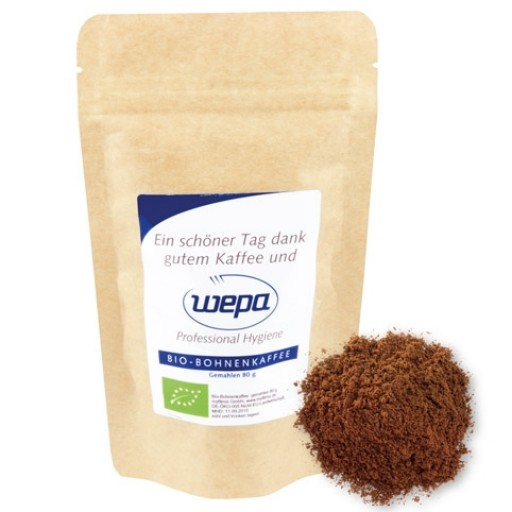 Bio Instant Kaffee, ca. 20g, Standbeutel Mini