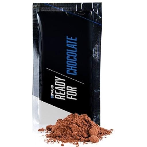 Bio Getränkepulver Kakao, ca. 12g, Portionstüte | transparente Folie