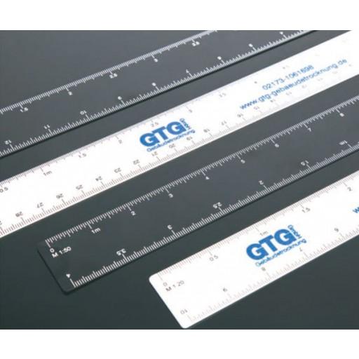 Kunststoff - Lineal 30 cm L19/30cm