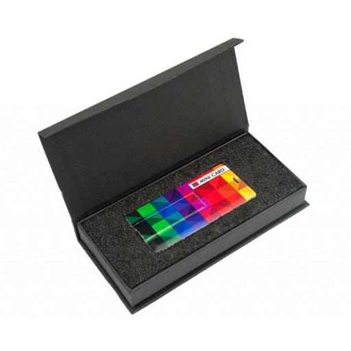 Express USB-Geschenkbox Leon | Rechteck als Werbeartikel