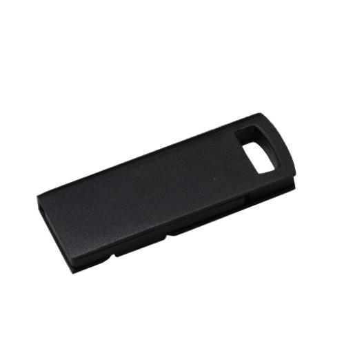 Mini-USB-Stick Alu-Slider | Schwarz