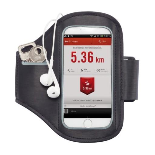 Universales Handy Sport Armband, schwarz