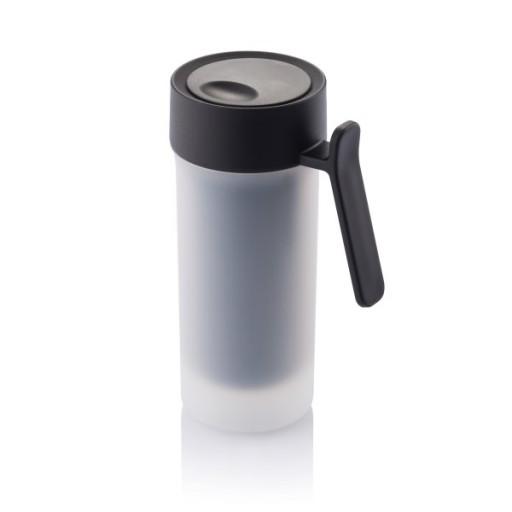 Pop Tasse, schwarz