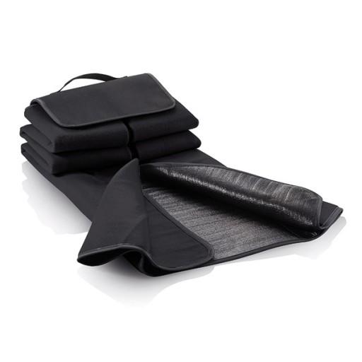 Picknickdecke, schwarz