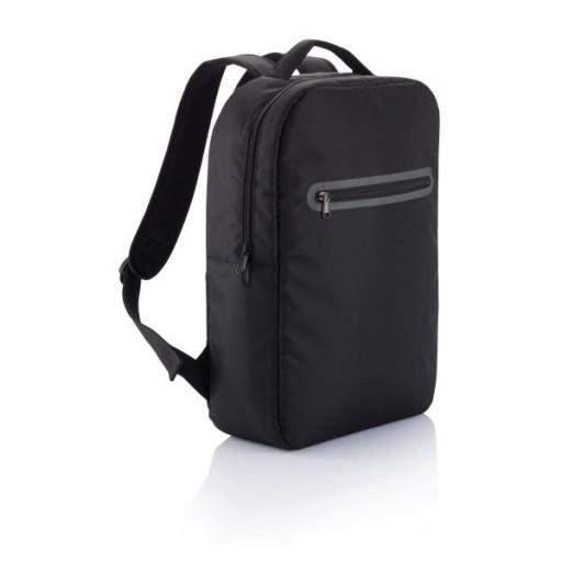 London Laptop Rucksack PVC frei, schwarz