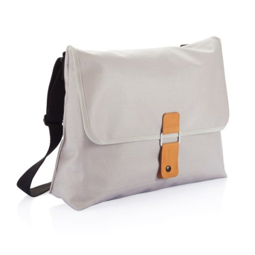 Pure Messenger Tasche, grau