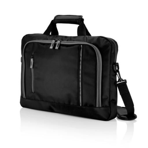 City Laptoptasche, schwarz