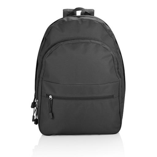 Basic Rucksack, schwarz